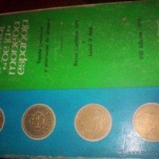 Catálogos y Libros de Monedas: CATALOGO GENERAL DE LA MONEDA ESPAÑOLA - REYES CATOLICOS A ISABEL II - JOSE A. VICENTI - 1975. Lote 43436442