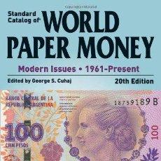 Catálogos y Libros de Monedas: CATÁLOGO DE BILLETES DEL MUNDO 1961-2013 · 2014 CATALOG OF WOLRD PAPER MONEY 1961-PRESENT. Lote 113210507
