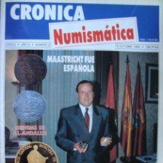 Catálogos y Libros de Monedas: REVISTA CRONICA NUMISMATICA Nº 31 OCTUBRE 1992. Lote 43947705