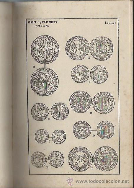 Catálogos y Libros de Monedas: DESCRIPCIÓN DE MONEDAS HISPANO CRISTIANAS, FERNANDO MATEOS AGUIRRE, MADRID GRÁFICA AMBOS MUNDOS 1920 - Foto 2 - 44587404