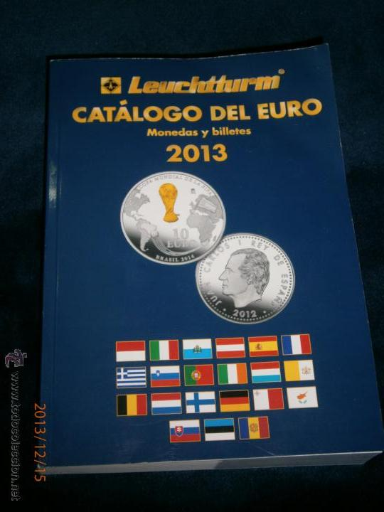 CATALOGO DEL EURO 2013 LEUCHTTURM (Numismática - Catálogos y Libros)