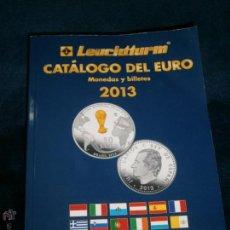 Catálogos y Libros de Monedas: CATALOGO DEL EURO 2013 LEUCHTTURM. Lote 40546823