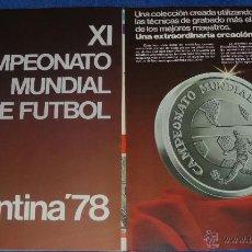 Catálogos y Libros de Monedas: ARGENTINA 78 - HOJA DE PEDIDO. Lote 45986547