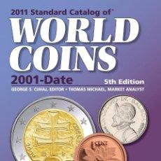 Catálogos y Libros de Monedas: CATÁLOGO DE MONEDAS DEL MUNDO 2001-2010 · FORMATO PAPEL · CATALOG OF WORLD COINS 2001-2010. Lote 46106480