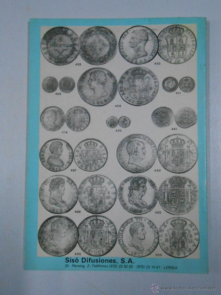 Catálogos y Libros de Monedas: 1599 MONEDAS, BILLETES Y SELLOS. INTERESANTES Y CURIOSOS. SISO DIFUSIONES LERIDA. TDK214 - Foto 2 - 46750431