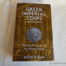 Catálogos y Libros de Monedas - Greek Imperial Coins, and their values. David R Sear. La Moneda Provincial Romana - 46956608