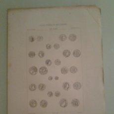 Catálogos y Libros de Monedas: 1875 - CASTROBEZA, CARLOS - CONSIDERACIONES SOBRE EL ARTE MONETARIO GRIEGO ... MONEDAS. Lote 47392466