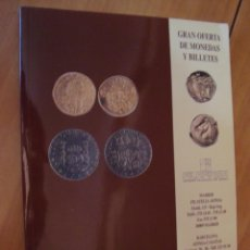 Catálogos y Libros de Monedas: CATALOGO AFINSA SUBASTA MONEDAS Y BILLETES SEPTIEMBRE 1995. Lote 49157541