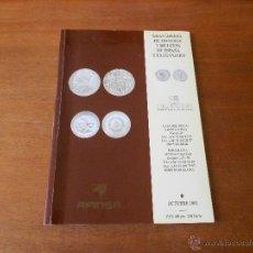 Catálogos y Libros de Monedas: CATALOGO. GRAN OFERTA DE MONEDAS Y BILLETES DE ESPAÑA Y EXTRANJERO. AFINSA. FILAFINSA. OCTUBRE 2001. Lote 49704492