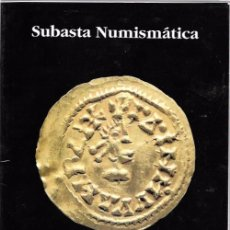 Catálogos y Libros de Monedas: PLIEGO. SUBASTA NUMISMÁTICA. SEVILLA, 31 MAYO 1999. Lote 49784521