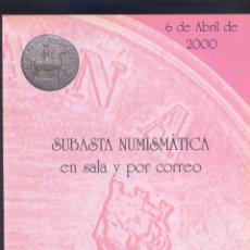 Catalogs and Coin Books - CATALOGO DE SUBASTA DE JOSE.A.HERRERO, S.A-06-04-2000 - 50024126