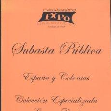 Catálogos y Libros de Monedas: CATALOGO DE SUBASTAS DE EXPO GALERIA, S.L-10-05-2003. Lote 50024379