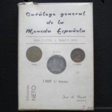 Catálogos y Libros de Monedas: PCBROS - CATÁLOGO GENERAL DE LA MONEDA ESPAÑOLA - DE FELIPE V 1700 A ISABEL II 1868 - J. VICENTI. Lote 50676383