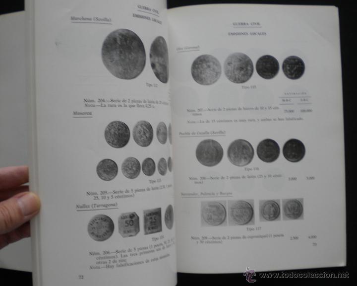 Catálogos y Libros de Monedas: PCBROS - MONEDAS ESPAÑOLAS DESDE 1868 A 1977 - FERRÁN CALICÓ - JOAQUIÍN TRIGO - 1977 - Foto 8 - 50677860