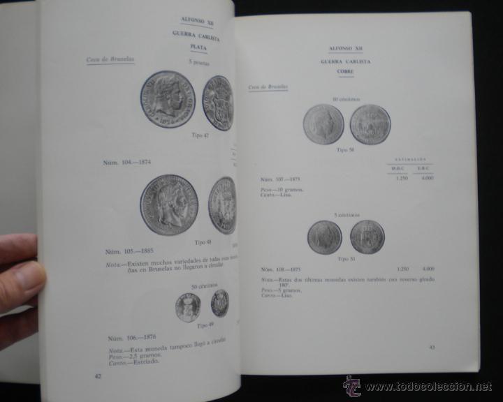 Catálogos y Libros de Monedas: PCBROS - MONEDAS ESPAÑOLAS DESDE 1868 A 1977 - FERRÁN CALICÓ - JOAQUIÍN TRIGO - 1977 - Foto 11 - 50677860