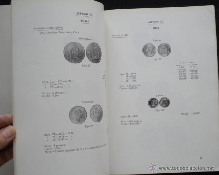 Catálogos y Libros de Monedas: PCBROS - MONEDAS ESPAÑOLAS DESDE 1868 A 1977 - FERRÁN CALICÓ - JOAQUIÍN TRIGO - 1977 - Foto 12 - 50677860