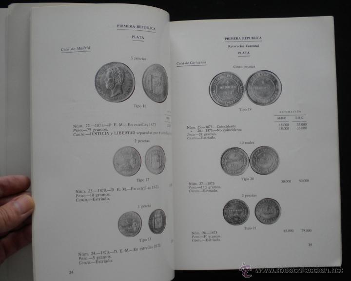 Catálogos y Libros de Monedas: PCBROS - MONEDAS ESPAÑOLAS DESDE 1868 A 1977 - FERRÁN CALICÓ - JOAQUIÍN TRIGO - 1977 - Foto 13 - 50677860