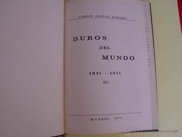 Catálogos y Libros de Monedas: Catálogo DUROS DEL MUNDO 1831-1971 (Castan, 1970). Numismática ¡Coleccionista! - Foto 3 - 51120910