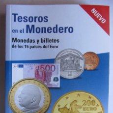 Catálogos y Libros de Monedas: TESOROS EN EL MONEDERO.. Lote 51492759