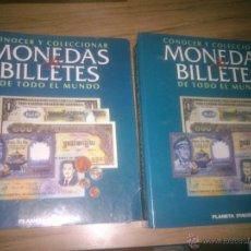 Catálogos y Libros de Monedas: COLECCION CONOCER Y COLECCIONAR MONEDAS Y BILLETES DE TODO EL MUNDO. PLANETA AGOSTINI. Lote 51993338