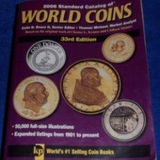 Catálogos y Libros de Monedas: WORLD COINS - CATALOGO 1901 - 2006. Lote 52307851