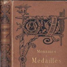 Catálogos y Libros de Monedas: LENORMANT : MONNAIES ET MEDAILLES (QUANTIN, PARIS, C. 1880). Lote 52952573