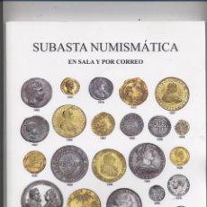 Catálogos y Libros de Monedas: CATALOGO DE SUBASTA AUREO & CALICO-13-03-2008-NUEVO. Lote 53501588