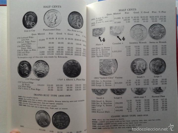 Catálogos y Libros de Monedas: (2) GUIDE BOOK OF UNITED STATES COINS, R.S. YEOMAN,1970- PREMIUM GUIDE BOOK EEUU&CANADA, HARRIS-1965 - Foto 4 - 55210059