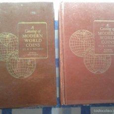 Catálogos y Libros de Monedas: A CATALOG OF MODERN WORLD COINS, R.S.YEOMAN, SIXTH (1964) & EIGHTH EDITION (1968),. Lote 55378176