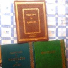 Catálogos y Libros de Monedas: 9 CATALOGOS MONEDAS (EN FRANCES), PARIS, MONTE CARLO, 1975-76-77-78-79. Lote 56056048