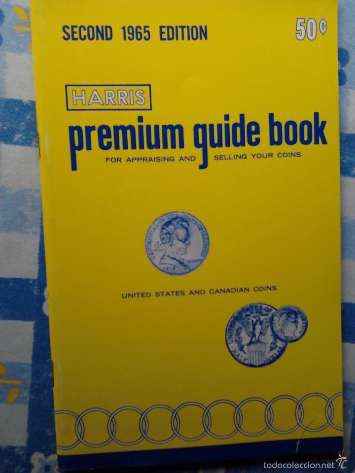 Catálogos y Libros de Monedas: (2) GUIDE BOOK OF UNITED STATES COINS, R.S. YEOMAN,1970- PREMIUM GUIDE BOOK EEUU&CANADA, HARRIS-1965 - Foto 5 - 55210059