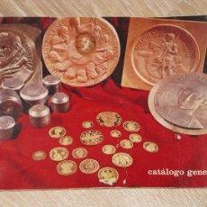 Catálogos y Libros de Monedas: CATALOGO GENERAL ACUÑACIONES ESPAÑOLAS S.A. 1972. Lote 56466589
