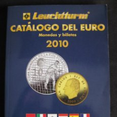 Catálogos y Libros de Monedas: CATÁLOGO DEL EURO - MONEDAS Y BILLETES 2010. Lote 56521031