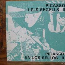 Catálogos y Libros de Monedas: PICASSO I ELS SEGELLS II. PICASSO EN LOS SELLOS II. 1978. . Lote 57002246