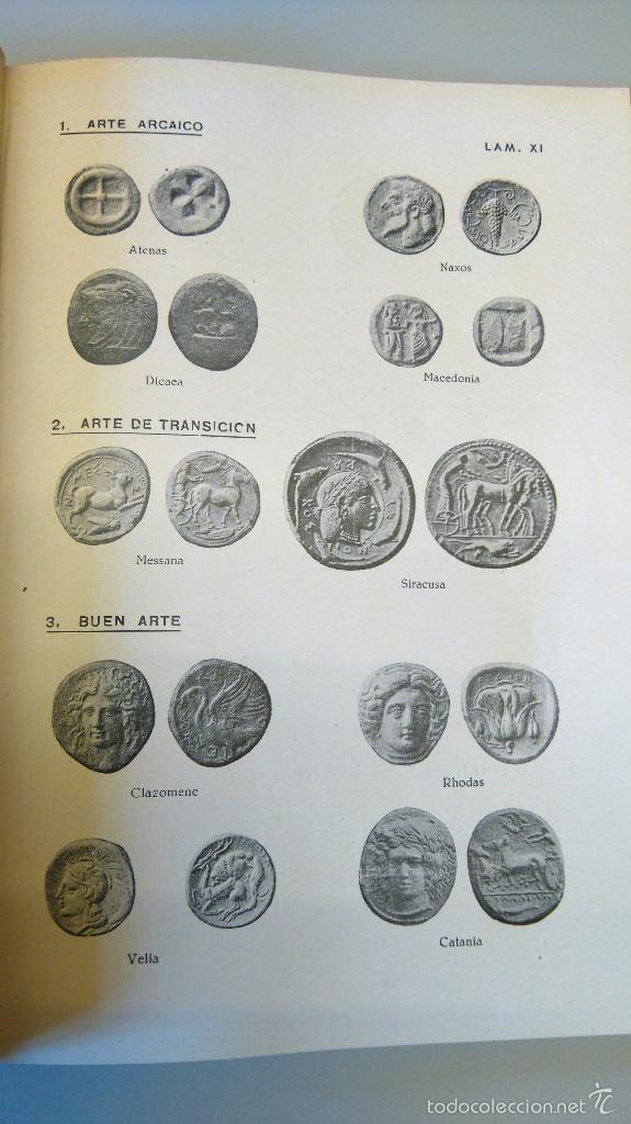 Catálogos y Libros de Monedas: ARQUEOLOGIA,LIBRO CURSO DE NUMISMATICA,AÑO 1943,DRACMA,DENARIO,AS,ESTUDIO DE LA MONEDA,MUY ILUSTRADO - Foto 5 - 57755635