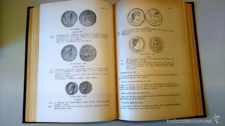 Catálogos y Libros de Monedas: ARQUEOLOGIA,LIBRO CURSO DE NUMISMATICA,AÑO 1943,DRACMA,DENARIO,AS,ESTUDIO DE LA MONEDA,MUY ILUSTRADO - Foto 6 - 57755635