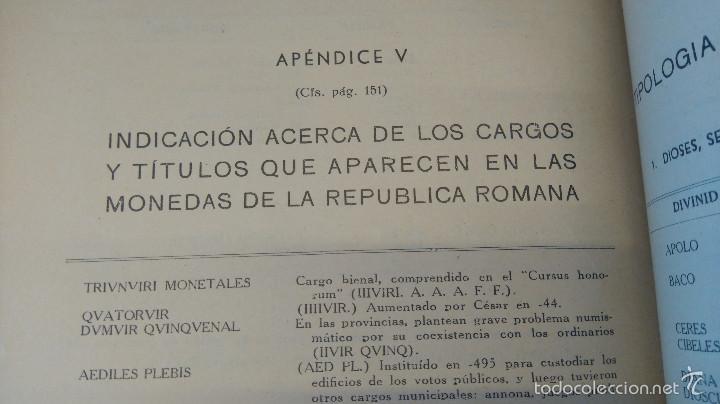Catálogos y Libros de Monedas: ARQUEOLOGIA,LIBRO CURSO DE NUMISMATICA,AÑO 1943,DRACMA,DENARIO,AS,ESTUDIO DE LA MONEDA,MUY ILUSTRADO - Foto 7 - 57755635