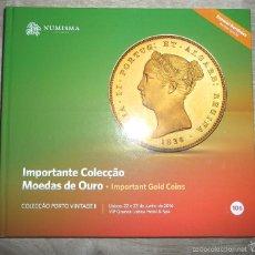 Catálogos y Libros de Monedas: CATÁLOGO SUBASTA **NUMISMA**.LISBOA. ESPECIAL DADA LA VARIEDAD DE **RAREZAS** Y MONEDAS DE ORO. Lote 57918876