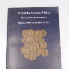 Catálogos y Libros de Monedas: CATALOGO SUBASTA NUMISMATICA SOLER Y LLACH MARTI HERVERA. 29 OCTUBRE DE 2013. TDK295. Lote 58187452
