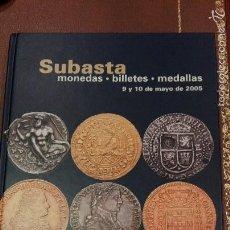 Catalogues et Livres de Monnaies: CATALOGO SUBASTA DE CAYON, MONEDAS, BILLETES Y MEDALLAS.MAYO 2005. Lote 59793404