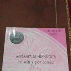 Catálogos y Libros de Monedas: SUBASTA NUMINTATICA JOSE A.HERRERO.ABRIL 2000. Lote 59914459