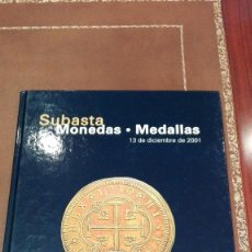 Catálogos y Libros de Monedas: CATALOGO SUBASTA DE CAYON, MONEDAS, MEDALLAS.DICIEMBRE 2001. Lote 59915915