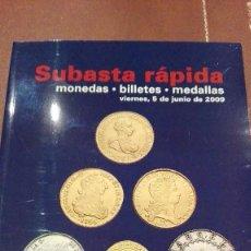 Catálogos y Libros de Monedas: CATALOGO SUBASTA DE CAYON, MONEDAS, BILLETES Y MEDALLAS.JUNIO 2009. Lote 59939819