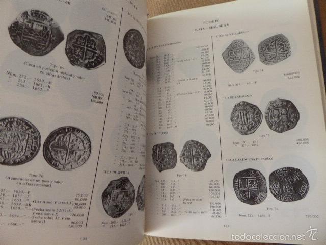 Catálogos y Libros de Monedas: MONEDAS ESPAÑOLAS DESDE FELIPE II A ISABEL II. 1556 A 1868. BARCELONA, 1982. 5ª ED. 498 PP. - Foto 2 - 60038847