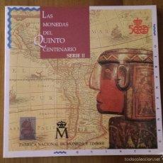 Catálogos e Livros de Moedas: LAS MONEDAS DEL QUINTO CENTENARIO. SERIE II. FNMT. ANTONIO GUTIÉRREZ ESCUDERO. Lote 60042047