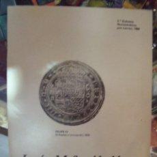 Catálogos y Libros de Monedas: GACETA NUMISMATICA J M ALEDON 1980. Lote 62145180