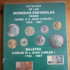Catálogos y Libros de Monedas - CATALOGO DE LAS MONEDAS Y BILLETES DE ESPAÑA HNOS. GUERRA 1987 - 62192608