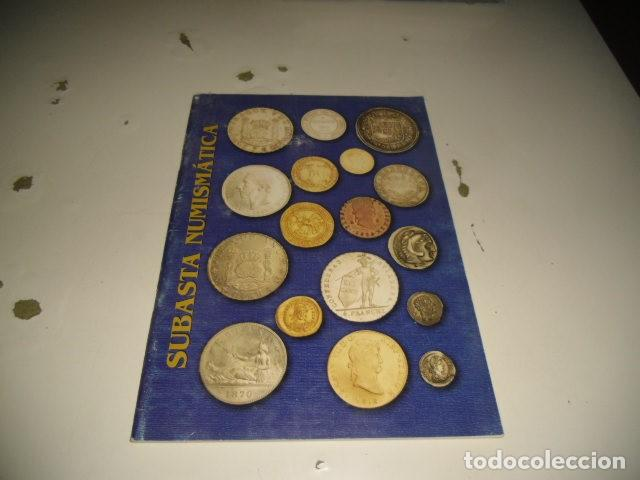 18 SUBASTA NUMISMATICA C-JI02MJ (Numismática - Catálogos y Libros)