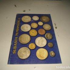 Catálogos y Libros de Monedas: 18 SUBASTA NUMISMATICA C-JI02MJ. Lote 62705156