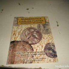 Catálogos y Libros de Monedas: BAL-14 18 NUMISMATICA CARLOS FUSTER MONEDAS Y BILLETES FEBRERO 1998 C-JI02MJ. Lote 62705592